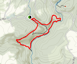 Red, Yellow and White Loop Map