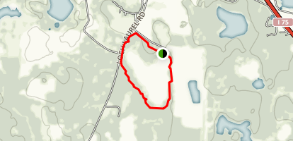 Grassy Pond Nature Trail Map