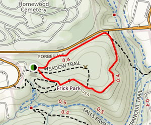 North Clayton Trail to South Clayton Trail Loop Map