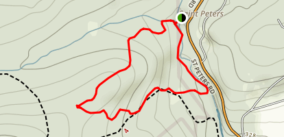 Saint Peters Mushroom Rock Loop Map