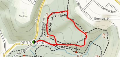 Snowflake Trail Loop Map