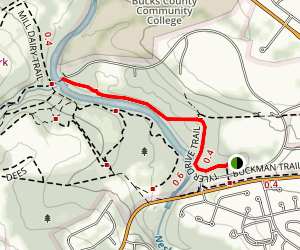 Tyler Drive Trail Map