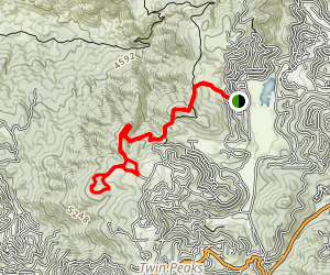 Tunnell Road to SawMill Loop Map