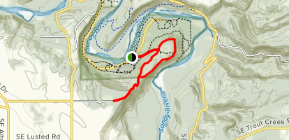 Oxbow Regional Park Loop Map