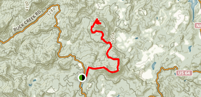 Yellow Mountain Trail Map