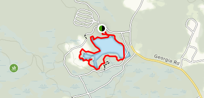 Alder and Fitness Trail Loop Map