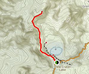 Mount Qua Qua Map