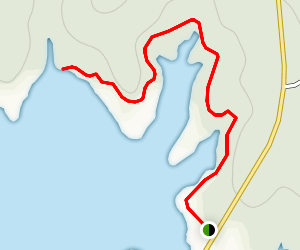 Fishing Rock Trail Map