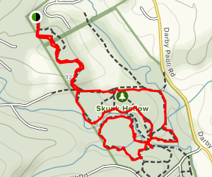 The Willows Park Loop Map