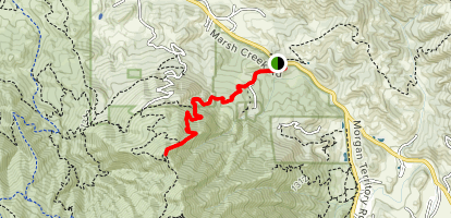 Mount Olympia Trail Map
