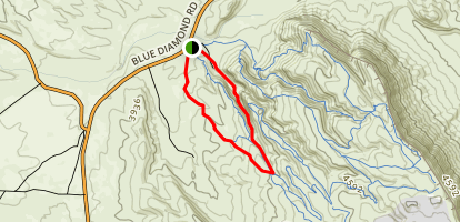 Fossil Canyon  Map