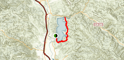 Lake Mendocino Map