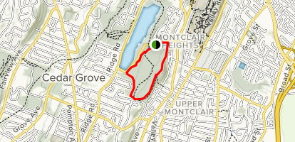 Mills Reservation Trail Map