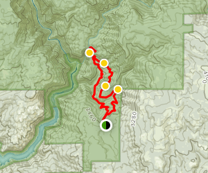 Feather Falls Loop Trail Map