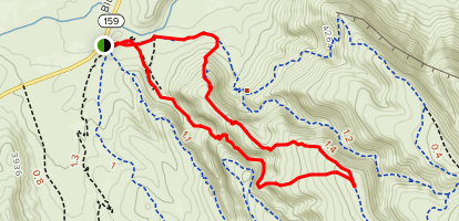 Boneshaker Trail Map
