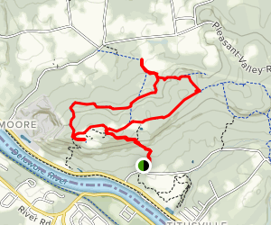 NW Loop and Ridge Trail via Summit Trail Map