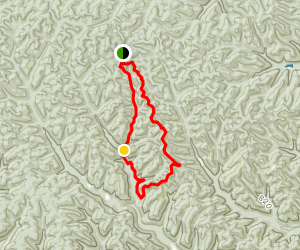 Shawnee Backpacking Trail Camp 6 Loop Map