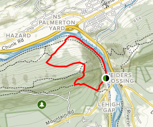 Charcoal Trail to D&L Trail Loop Map
