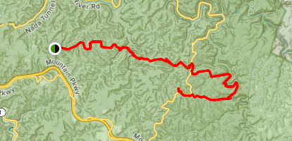 Rough Trail to Wildcat Trail Map