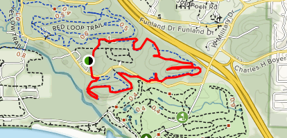 Green Loop Trail Map