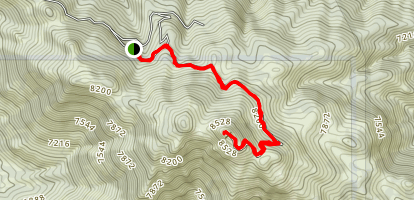 El Toro Peak Map