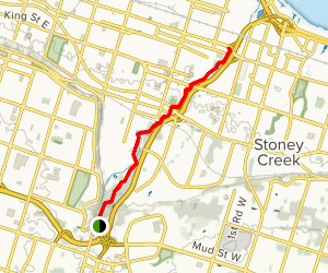 Red Hill Valley Recreational Trail Map