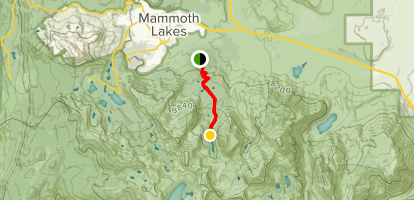 Valentine Lake Trail Map