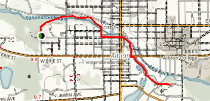 Albion River Trail Map