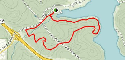 Sunken Garden Trail Map