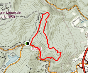 Thurmont Vista and Wolf Rock Map