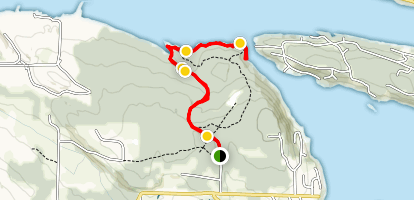 Cable Bay Nature Trail Map