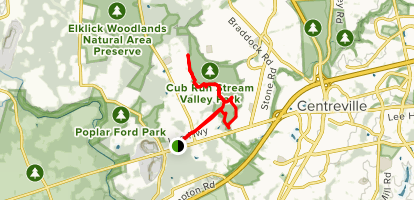 Cub Run Stream Valley Trail Map