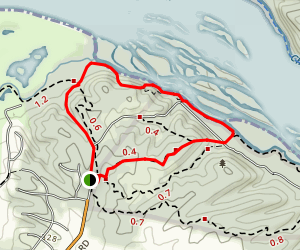 Potomac Heritage Trail and Yellow Trail Loop Map