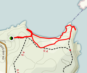 Murrays Beach Map