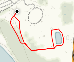 Baywoods, Raptor, and Taylor Pond Loop Map
