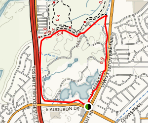 Woodward Park Trail Map