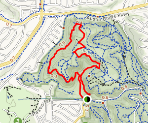 Edna Mae Bennet Nature Trail, Templeton and Mesa Trail Loop Map