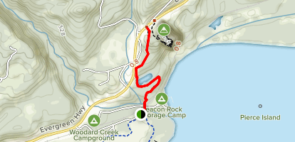 River to Rock Trail Map