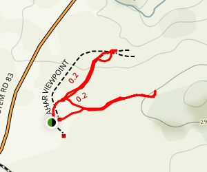 Lahar Viewpoint Trail Map