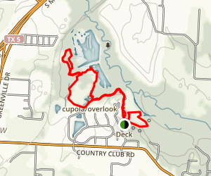 Wood Duck, Cedar Break, Laughlin Loop Map