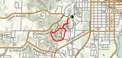 Meadow Loop and Copper Ridge Trail Map