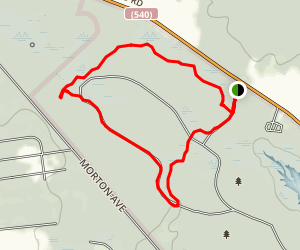 Knoll, Loop, and Long Trail Map