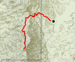 Rincon Peak Trail Map