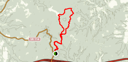 Red Leaves Trail North Map