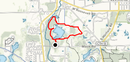 Blackwell Forest Preserve Map