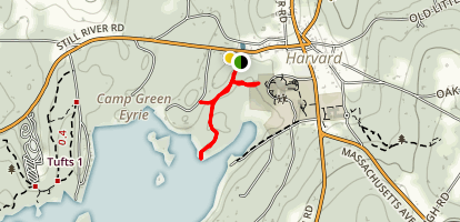 Barba's Point Trail Map