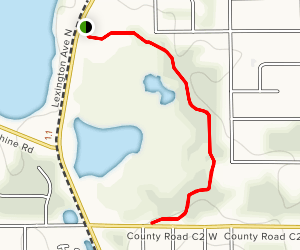 Lake Josephine County Park Trail Map