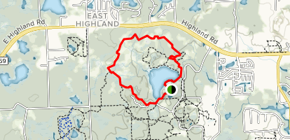 Haven Hill Loop Map
