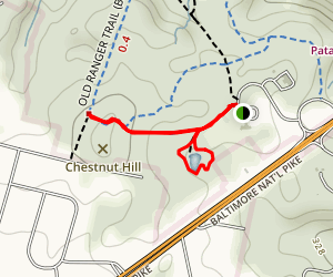 Peaceful Pond Trail Map