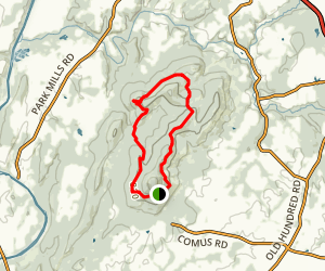 White Rocks Outer Loop Map